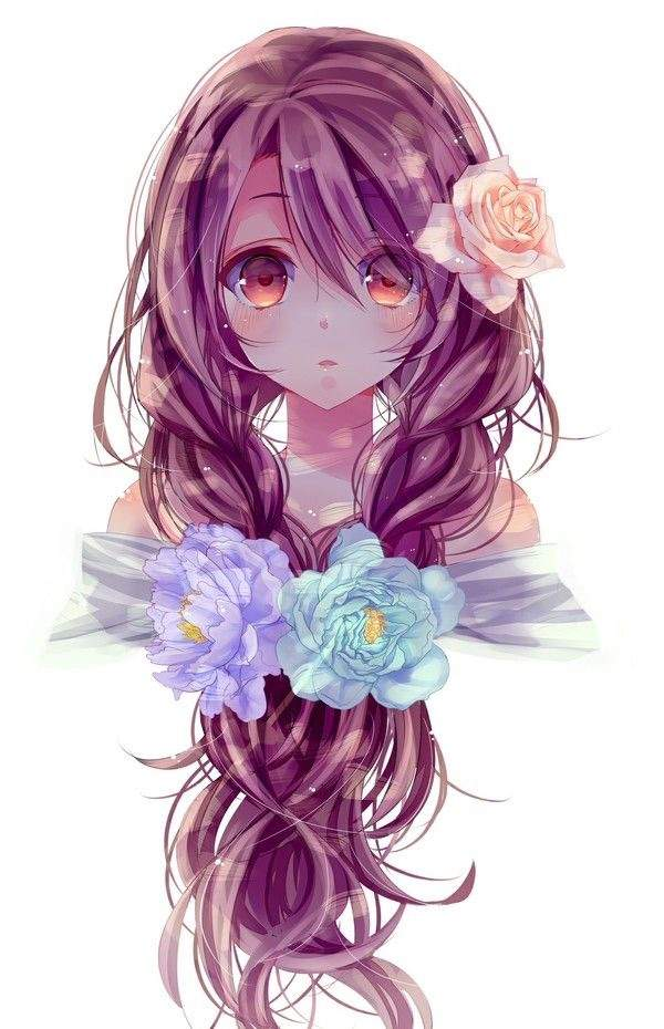 anime hair 5: Favorite Anime Girl Hairstyles