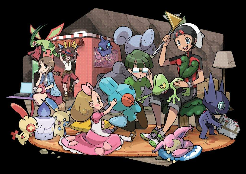 Fighting Type Gym Leader Team