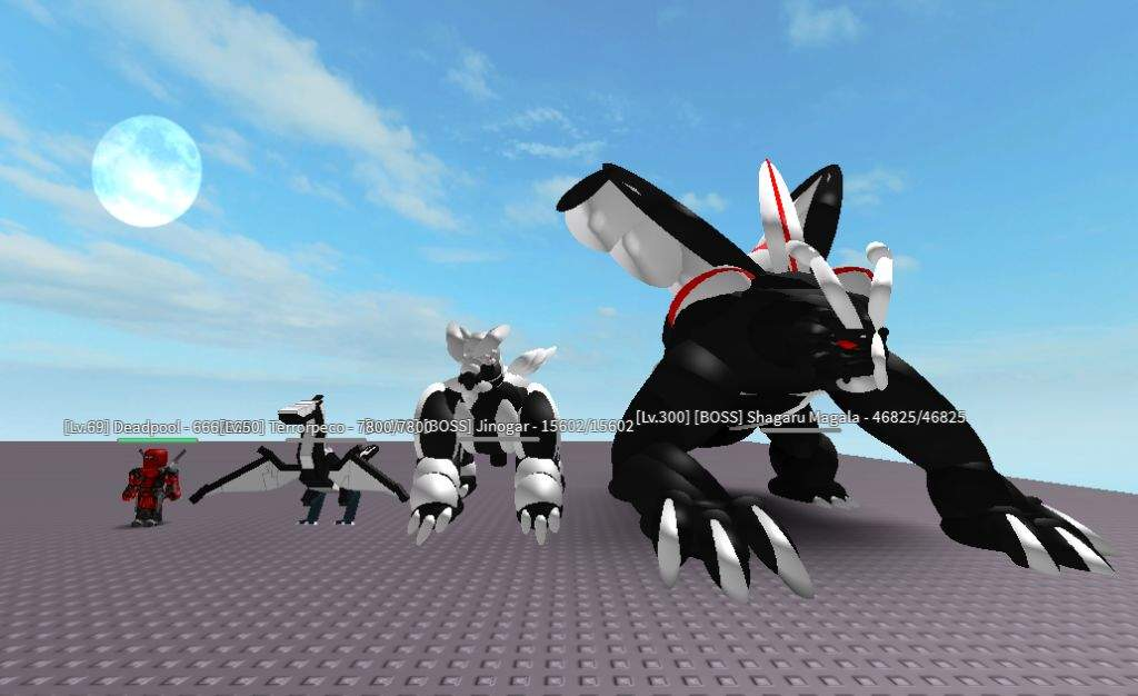 how to make a monster on roblox