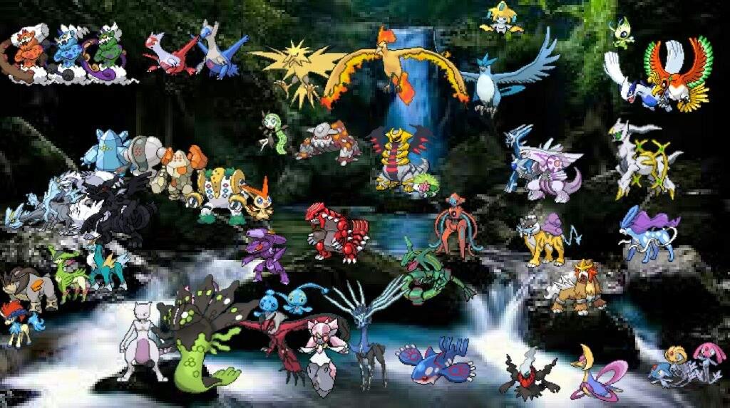 Small Legendary Pokemon Images