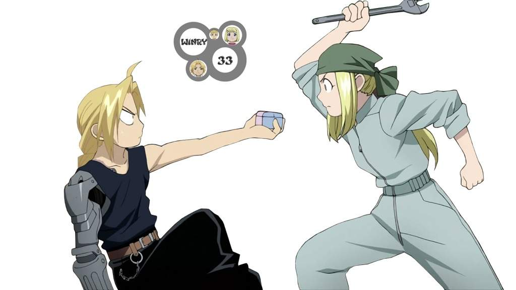 Edward Elric And Winry Rockbell Married Ed and Winry | Anime A...