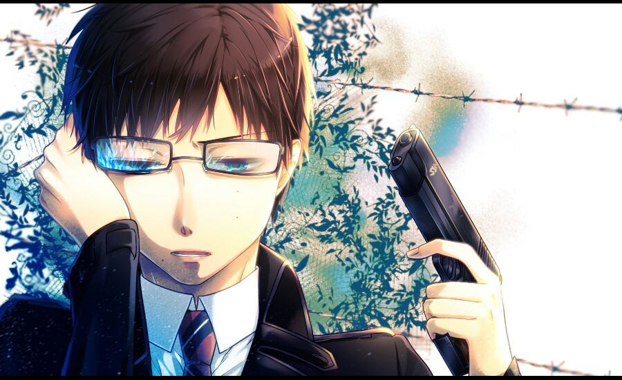 Anime Characters With Glasses : Male anime characters with glasses and black hair
