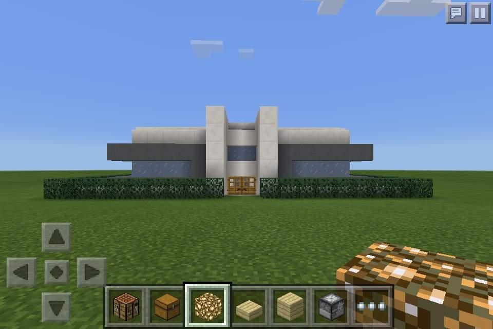 Minecraft PE Build Small Modern Lot House 18x18 Minecraft Amino