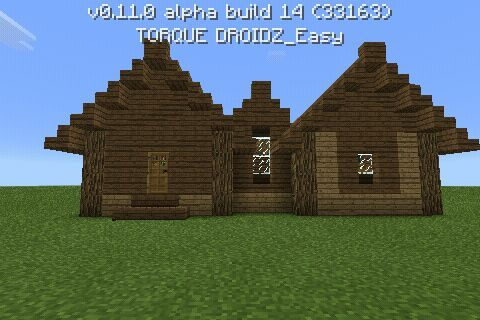 New House For 2 Players Build By Me Minecraft Amino