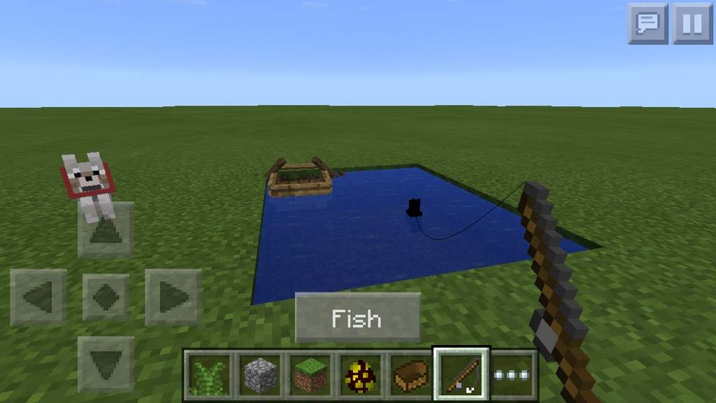 Minecraft pe update review video games amino for How to fish in minecraft pe