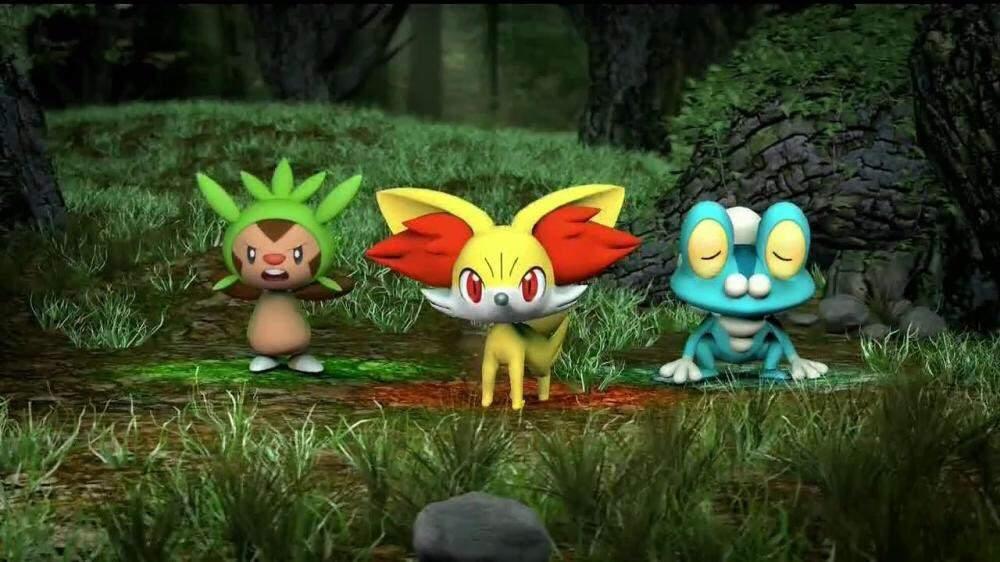 kalos region pokemon coloring pages - photo#17