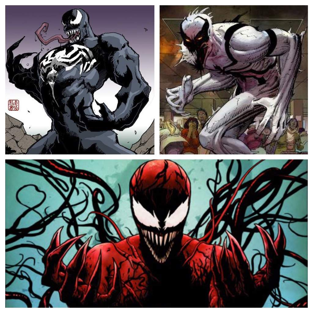 Superior Symbiote Battle: Venom VS Carnage VS Anti Venom ...