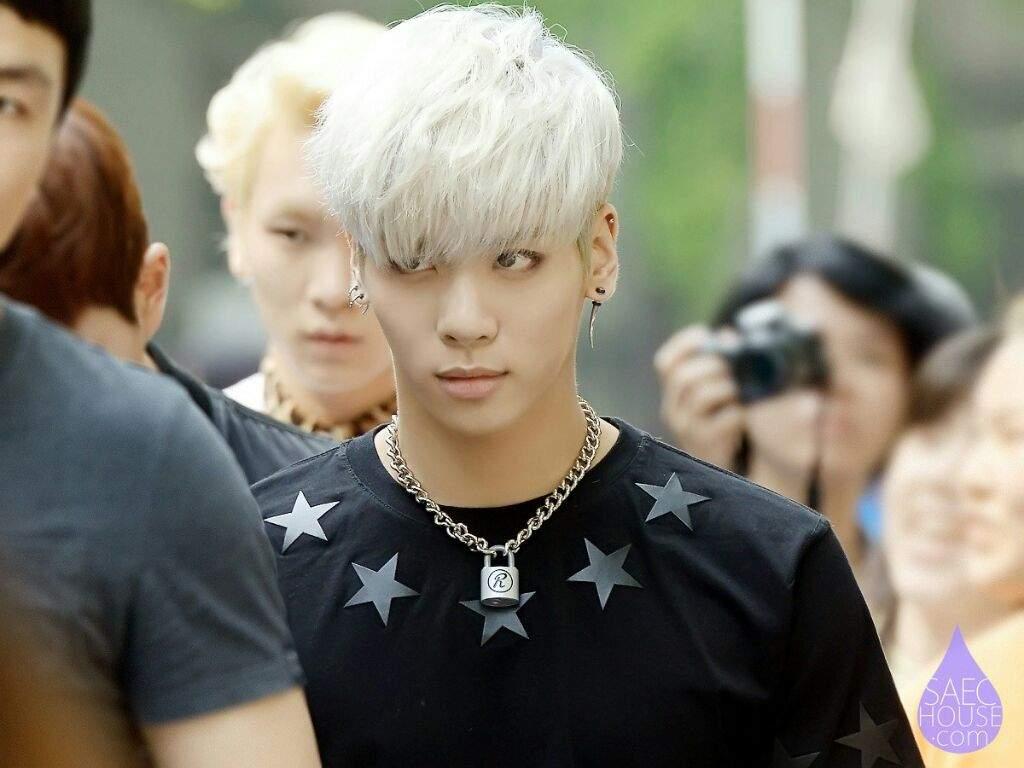Silver hair tumblr guy