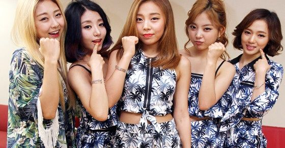 Kpop Girl Group In Car Accident