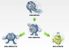 Poliwag Evolves Into Poliwhirl Which Then Either Poliwrath Or Politoed This Leads Me To My Next Question What Should Evolve