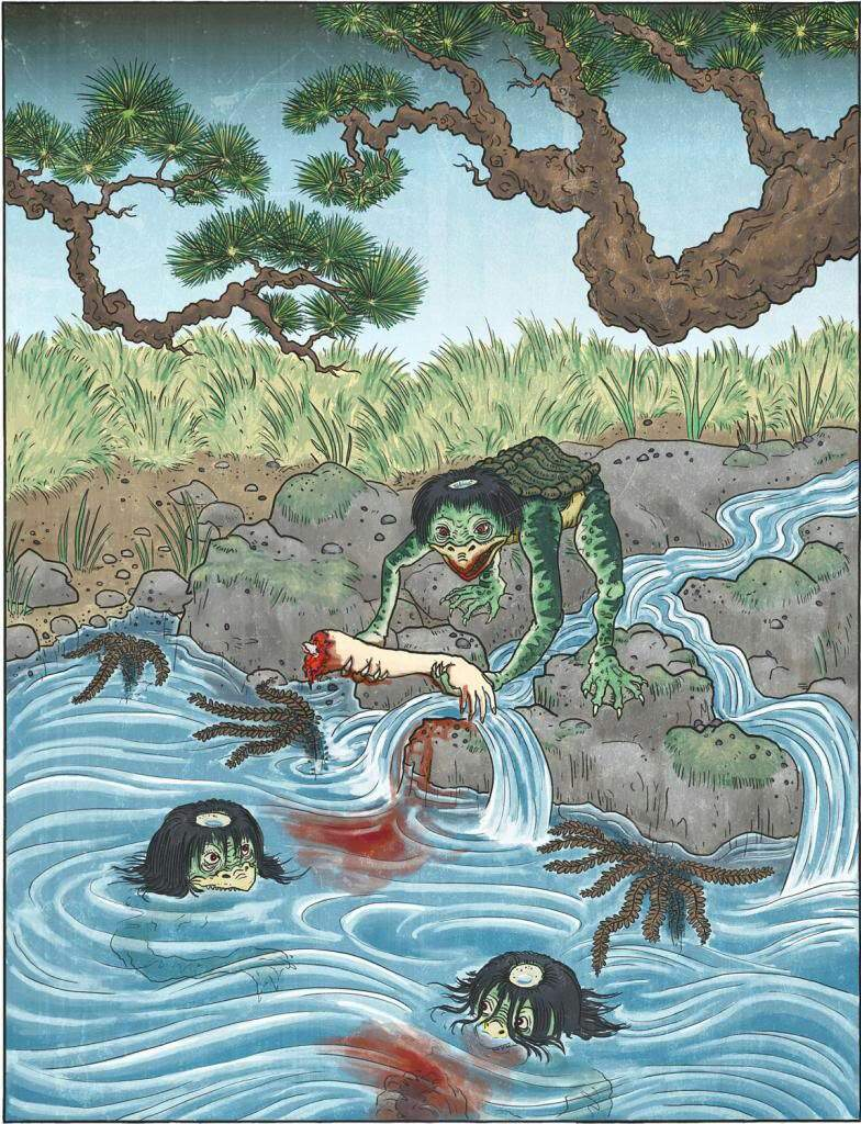 myths and legends of japan Japan is a country steeped in myth and legend considering the country is 71%  mountainous terrain, it is easy to understand why much of japans' folklore.