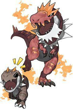 Favourite Rock Type Tyrunt And Tyrantrum Pokemon Amino