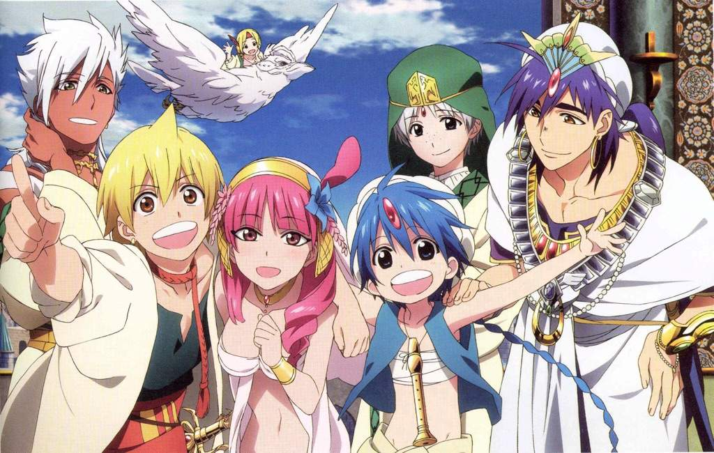 magi the labyrinth of magic 1080p backgrounds