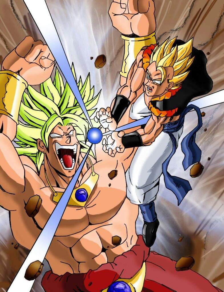 SUPER VEGITO vs. SUPER GOGETA vs. BROLY | Anime Amino