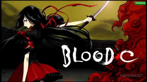 Image result for ‫انیمه Blood-C‬‎