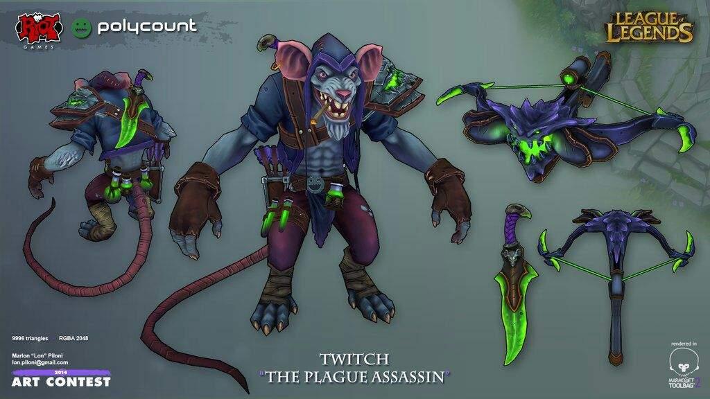 League Of Legends Character Design Contest : Riot art contest character compilation pt league of