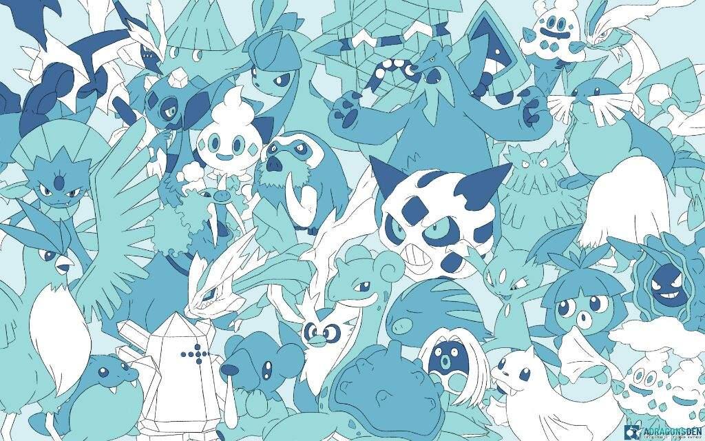 ice type pokemon wallpaper - photo #2