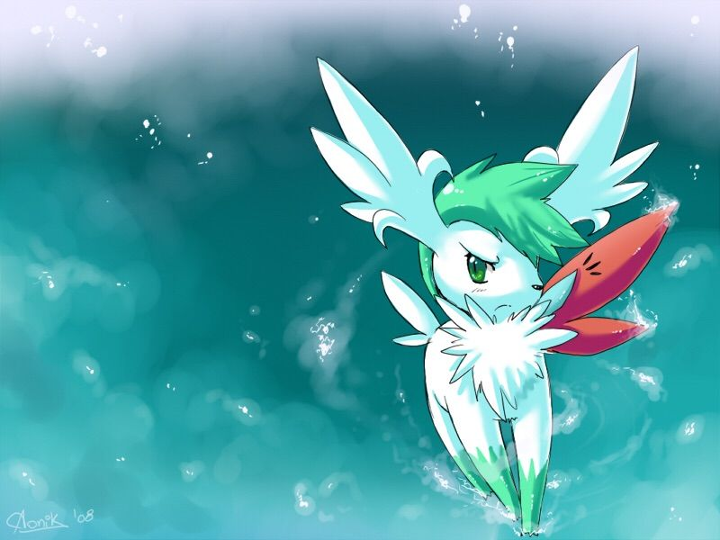 how to change shaymin form oras