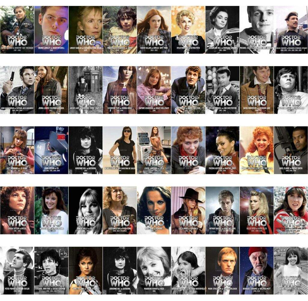 The relationship of the doctor with his companion in the television series doctor who