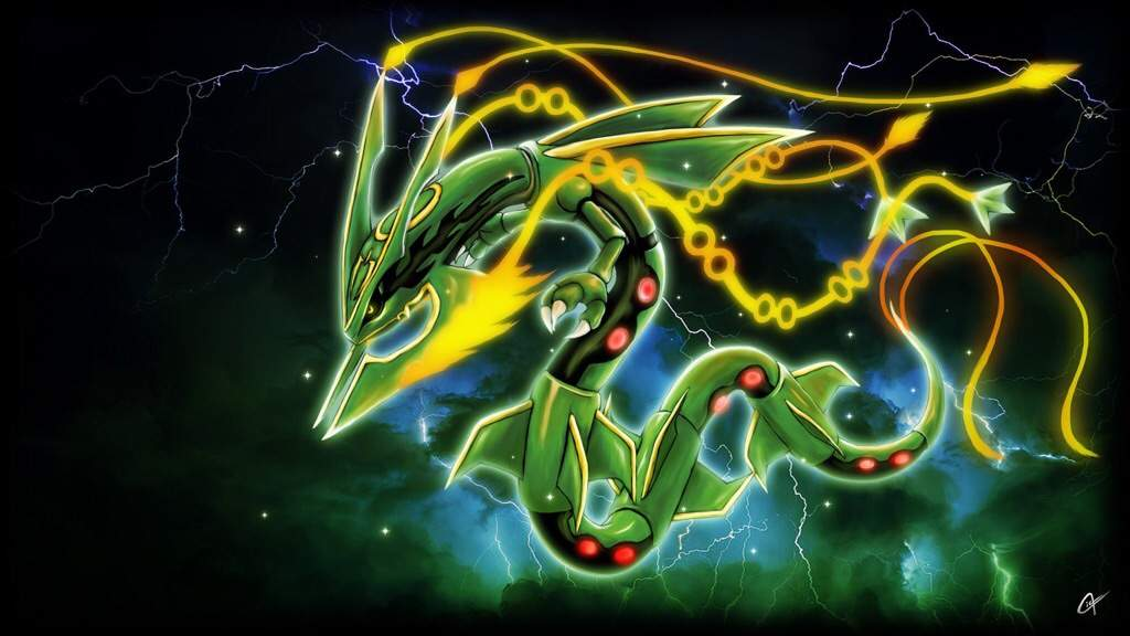 Theory why rayquaza doesn 39 t have a primal form pok mon amino - Pokemon rayquaza mega evolution ...