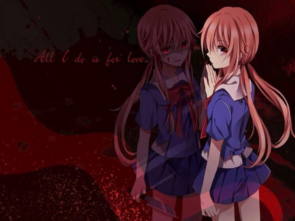 Mirai Nikki Gasai Yuno Yandere Anime Anime Girls: Anime Amino