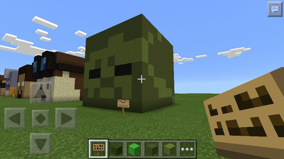 Zombie head 3D Pixel Art | Minecraft Amino