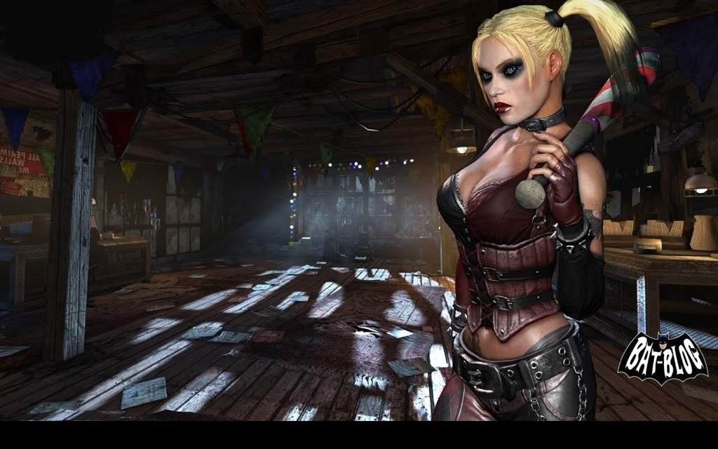 DC Direct Batman Arkham Asylum Series 1 Harley Quinn