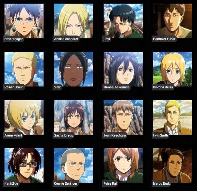 flirting games anime characters images names list