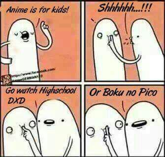 Anime Is Not Just For Kids
