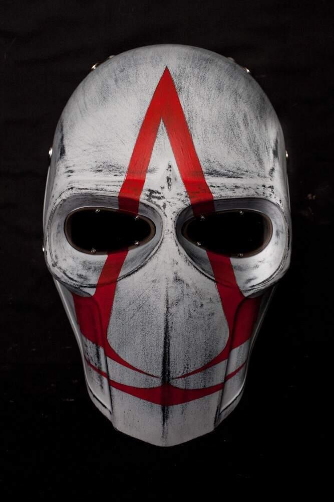 Как сделать маску ассасина