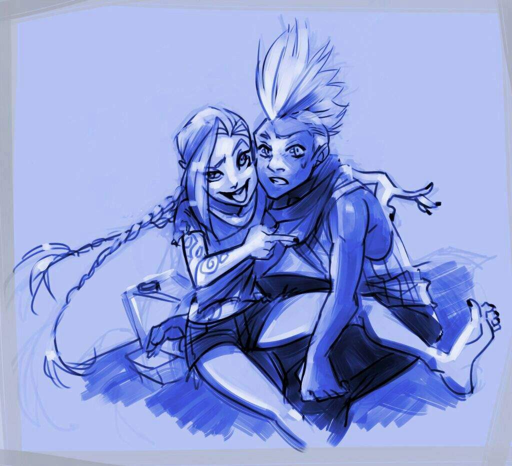 why are jinx and ekko allies