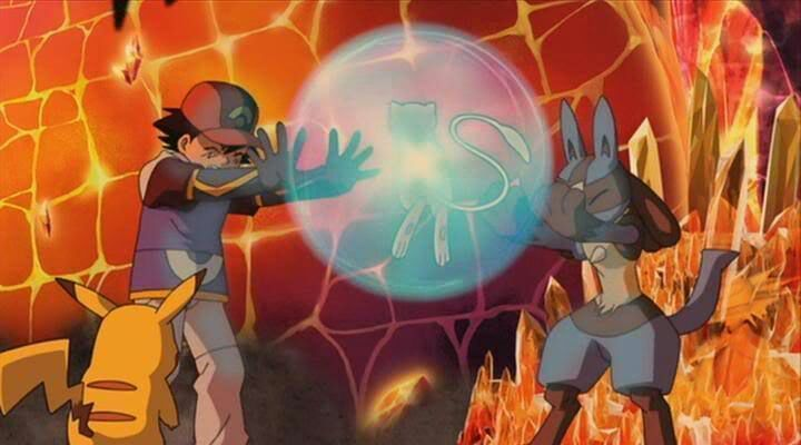 Lucario mew movie mystery