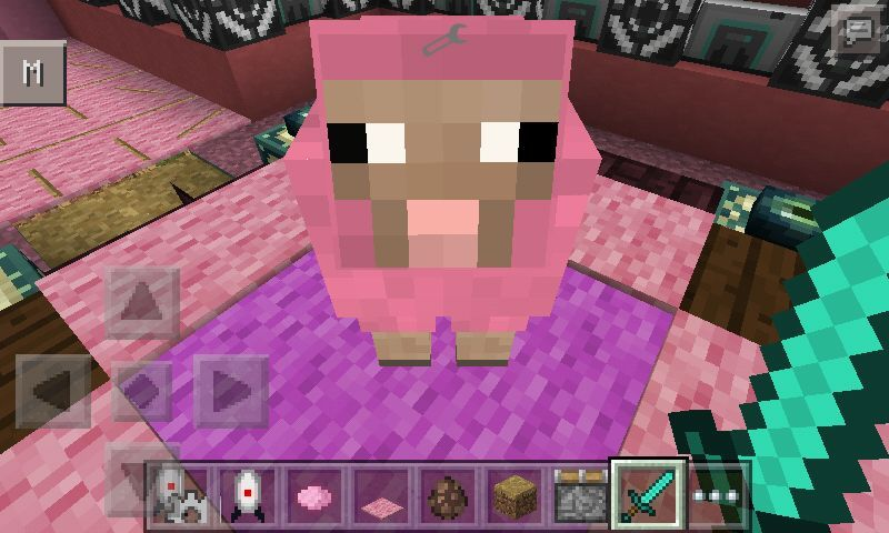 Pink sheep explodingtnt - photo#17