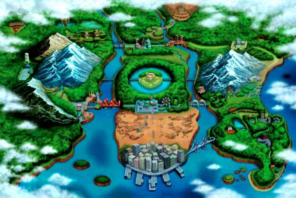 TOP 6 POKEMON REGIONS/GENERATIONS | Pokémon Amino