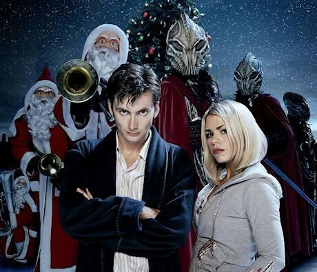 Doctor Who The Christmas Invasion.A Review Of The Christmas Invasion 2005 S2 Special
