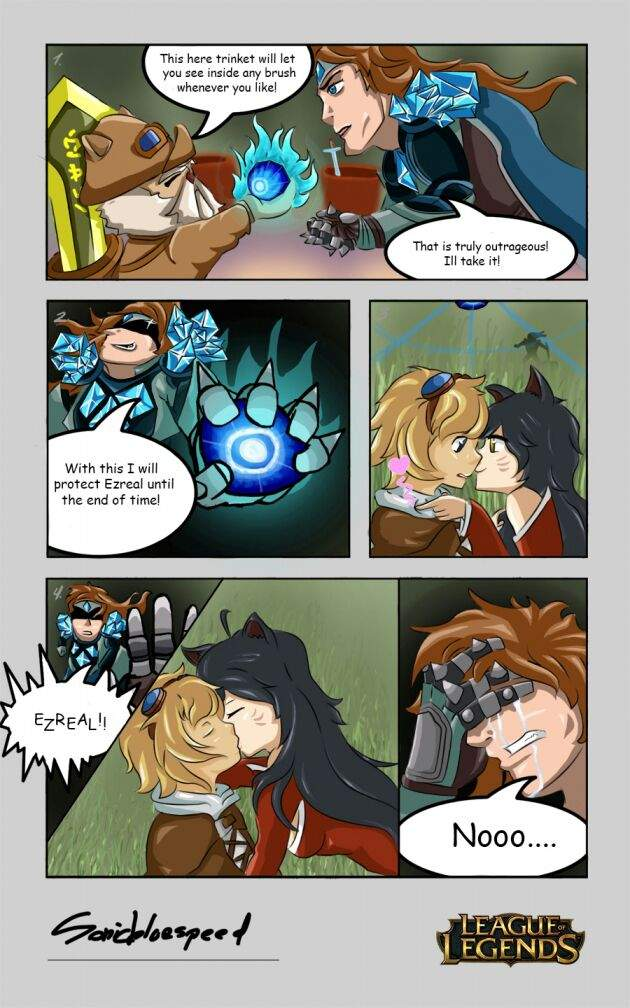 Taric Ezreal comic | League Of Legends -- Official Amino