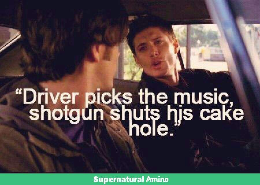 ALRIGHT Just Gotta Know Everyone's Picks On Sam And Dean