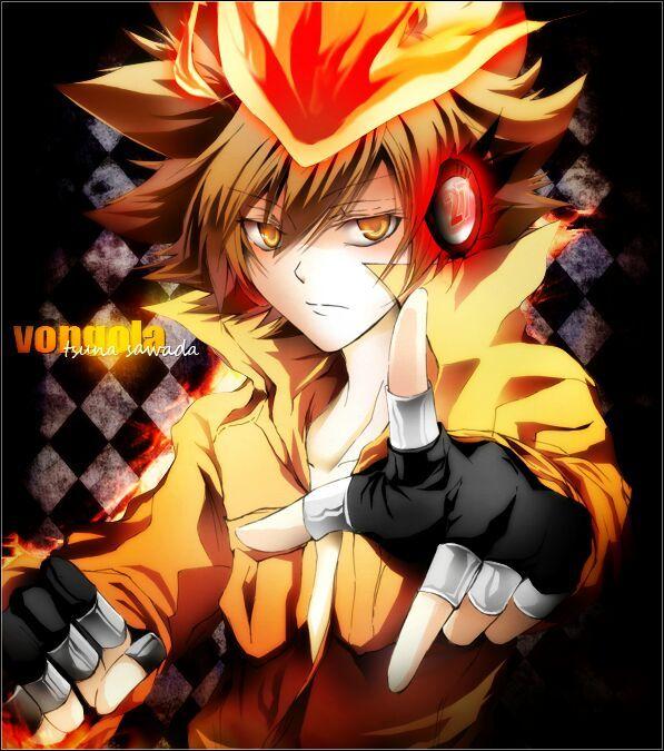 Anime Characters Using Fire : Tsuna vs natsu anime amino
