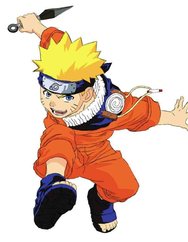 Kid goku vs kid naruto battle of young heroes | Anime Amino