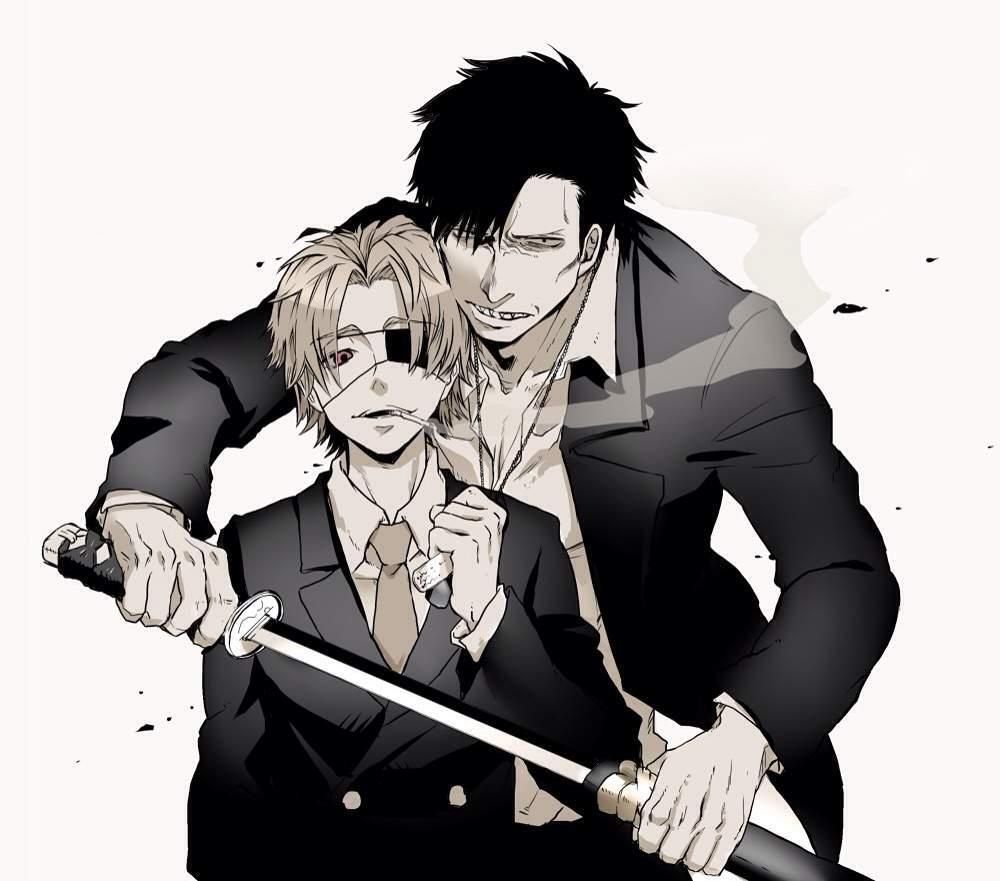 Gangsta Manga Anime Amino