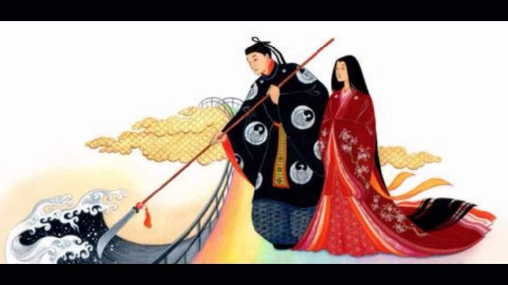 izanagi and izanami japanese mythology anime amino