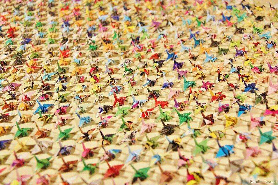 1000 cranes and a wish for you anime amino for 1000 paper cranes wedding decoration