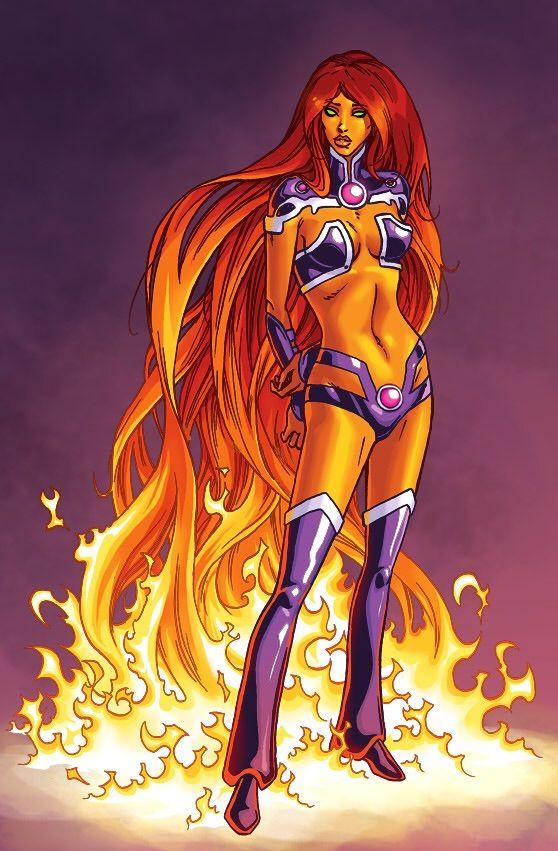 Starfire vs Star Sapphire   Comics Amino