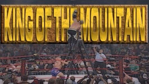 Resultado de imagem para king of the mountain match
