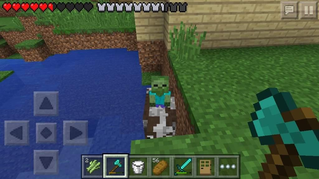 Chicken Minecraft pe Minecraft pe Cow Jockey Found