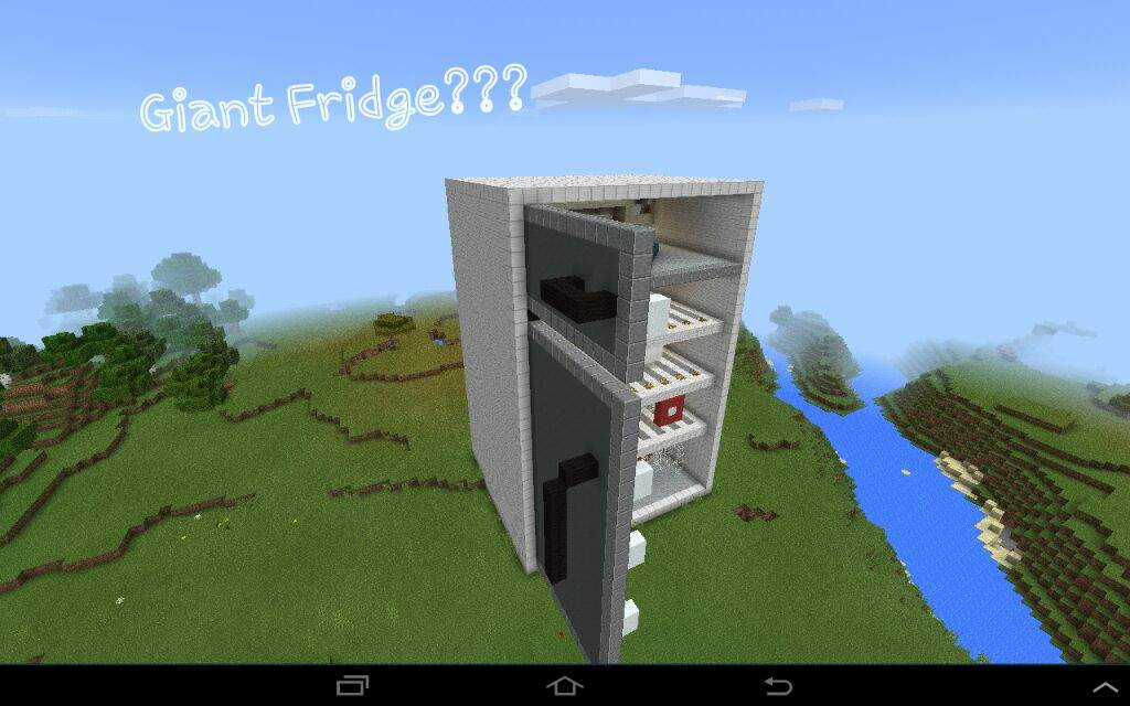 How to Make a Working Fridge in Minecraft: 10 Steps