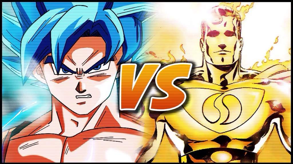 Goku Super Saiyan God 2 VS Superman Prime | Anime Amino