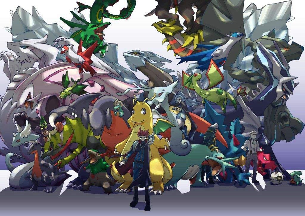 Top 10 Dragon Types Pok 233 Mon Amino