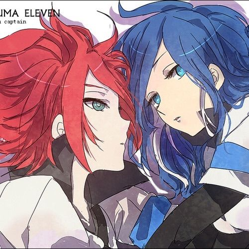 Anime In Hiragana: Inazuma Eleven Couples