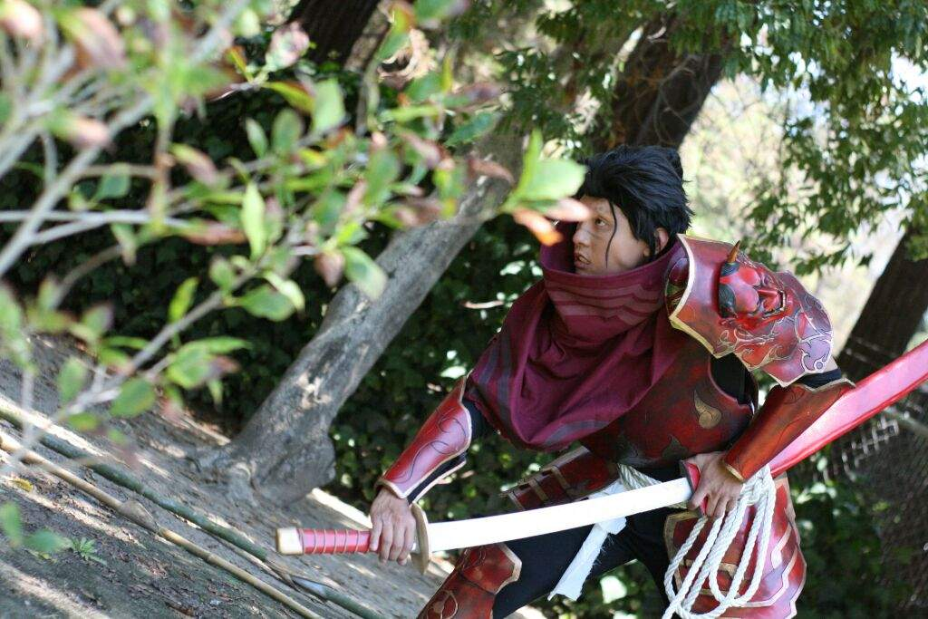 Bloodmoon Yasuo cosplay | League Of Legends -- Official Amino